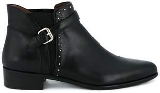 Tabitha Simmons Black Gigi Leather ankle boots