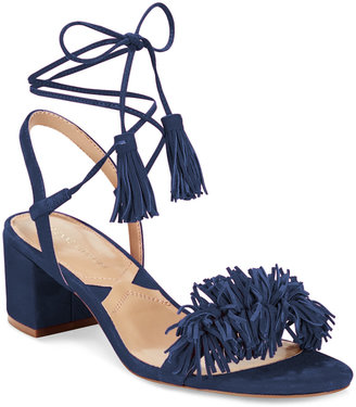 Adrienne Vittadini Allen Lace-Up Sandals Women's Shoes $110 thestylecure.com