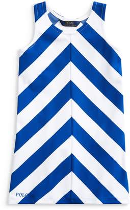 Ralph Lauren Childrenswear Little Girl's Chevron A-Line Dress