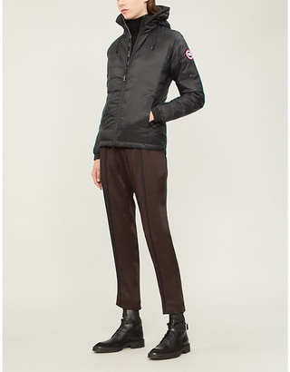 Canada Goose Ladies Black Camp Hooded Quilted Jacket