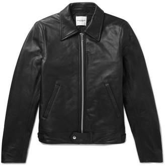 TAKAHIROMIYASHITA TheSoloist. Slim-Fit Leather Jacket