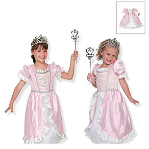 Melissa & Doug Melissa Doug Princess Role Play Costume Set