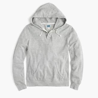 J.Crew Thermal henley hoodie