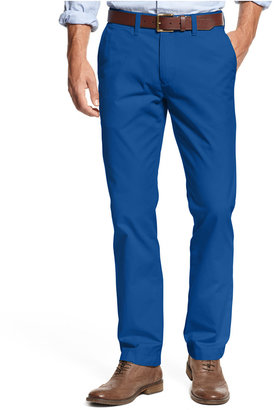 Tommy Hilfiger Men's Custom Fit Chino Pants $49.50 thestylecure.com
