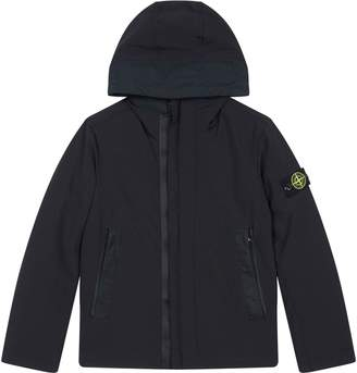 Stone Island Junior Padded Soft Shell Hooded Jacket