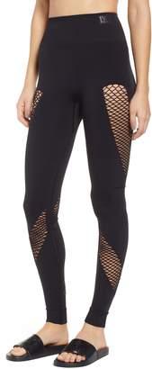 Ivy Park R) Mesh Spiral Leggings