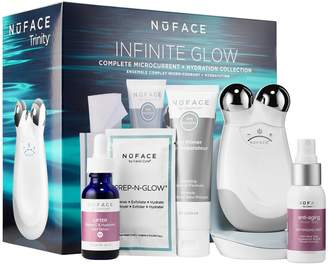 NuFace Trinity Infinite Glow Complete Microcurrent + Hydration Collection