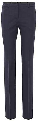 HUGO BOSS Regular-fit tailored trousers in stretch virgin wool