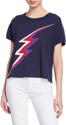 46e451cd0 Sundry Lightning Bolt Short-Sleeve Graphic Tee