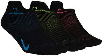 Nike Womens 3 Pk Performance Lightweight Footie Socks