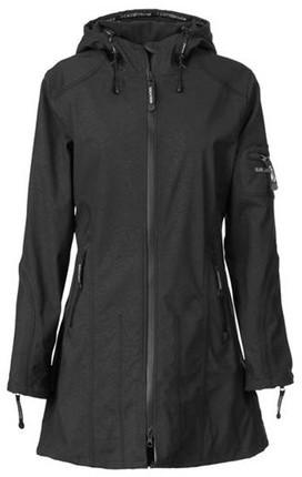 Ilse Jacobsen Hornbaek Raincoat Mid Black
