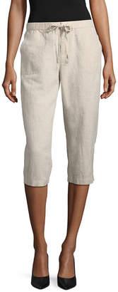 Liz Claiborne Cropped Pants-Petite
