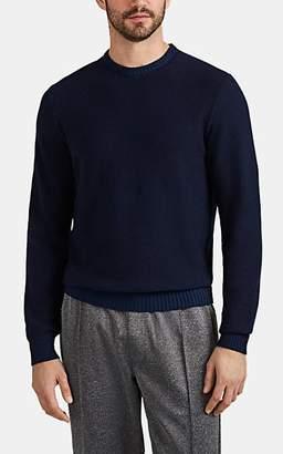 Barneys New York Men's Active Cashmere® Crewneck Sweater - Blue