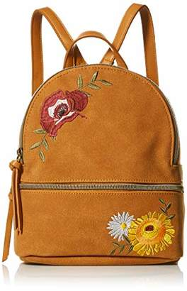 T-Shirt & Jeans Back Pack with Floral Embroidery