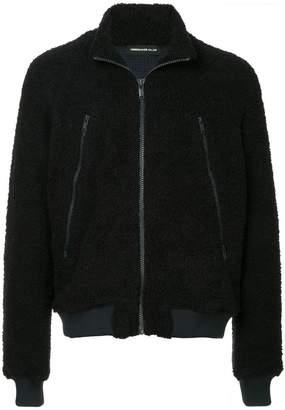 Undercover zippd up bomber jacket