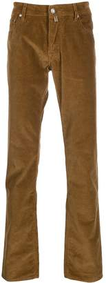 textural corduroy trousers