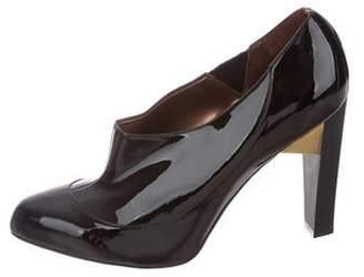 Stella McCartney Vegan Patent Leather Pointed-Toe Pumps