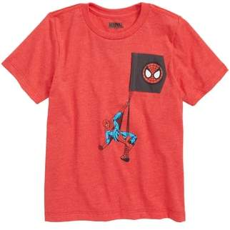Mighty Fine Spiderman Graphic T-Shirt