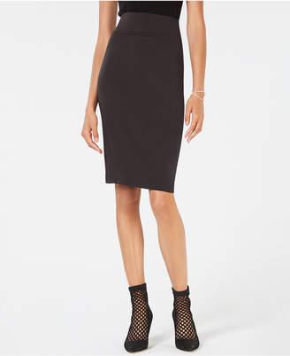 INC International Concepts I.n.c. Curvy-Fit Ponte Pencil Skirt