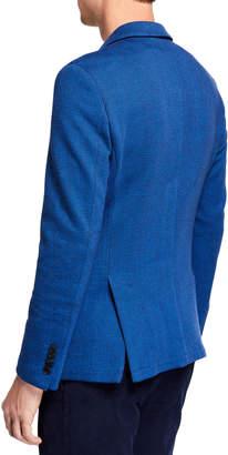 Joe's Jeans Men's Herringbone Knit Blazer Jacket