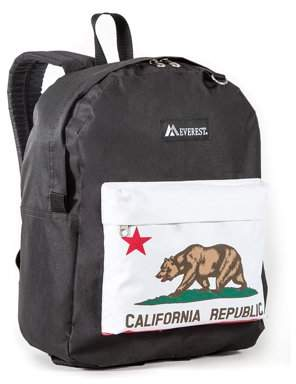 Everest Classic Pattern Backpack, Bear, One Size