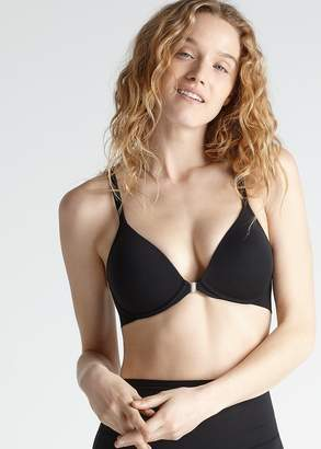 Yummie Wirefree Racer Back Bra w/Front Closure