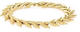 Cathy Waterman Women's Yellow Gold Wheat-Link Bracelet