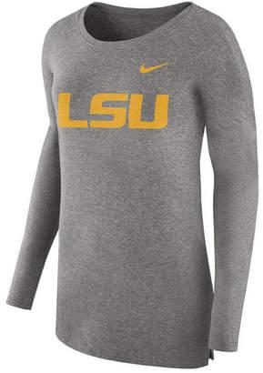 Nike Women Lsu Tigers Cozy Long Sleeve T-Shirt