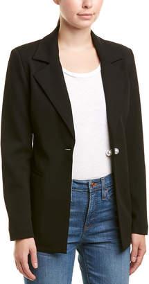 Romeo & Juliet Couture Pearl Button Blazer
