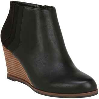 Dr. Scholl's Wedge Booties - Patch