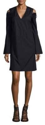 Derek Lam Bell Sleeve Mini Dress
