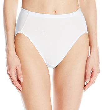 Vanity Fair Women's Cooling Touch Hi Cut Panty 13124