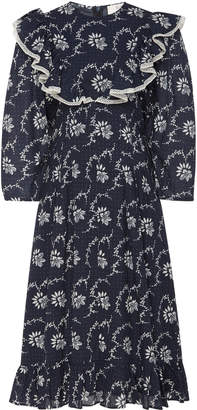 Sea Tatiana Ruffle Printed Dress