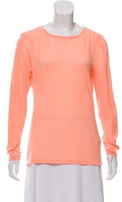 Ted Baker Bateau Neck Long Sleeve Top