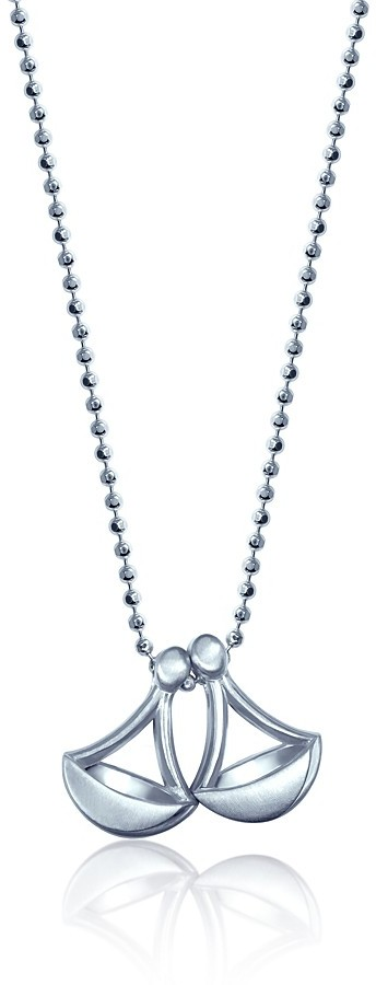 """Of the Moment Alex Woo """"Little Balancing Scales"""" (Libra) Pendant Necklace, 16"""""""