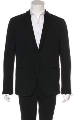 Fendi Long Sleeve Notch-Lapel Jacket