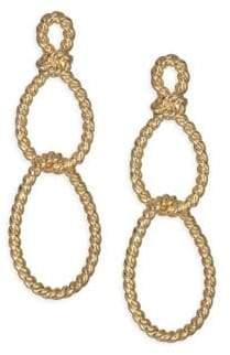 Kate Spade Sailors Knot Statement Earrings