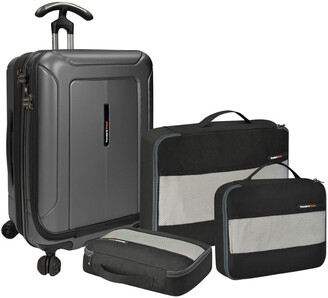 8667ff3a4a Traveler s Choice Travelers Choice TravelerS Choice Barcelona 22 Inch Hard  Side Spinner With Packing Cubes