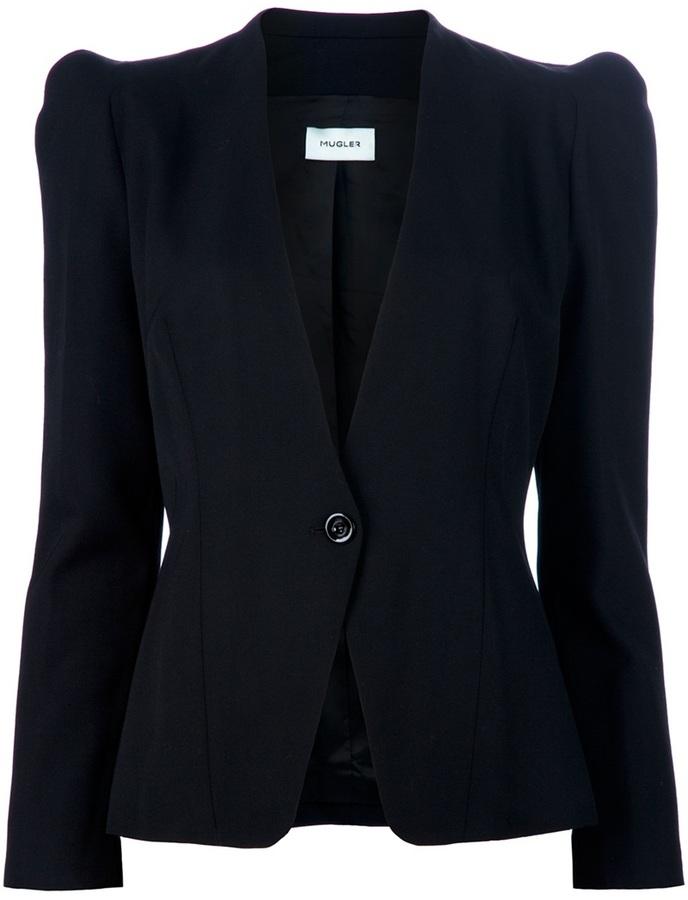Thierry Mugler Structured blazer