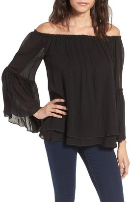 Women's Bailey 44 Bahama Off The Shoulder Shoulder Top $168 thestylecure.com