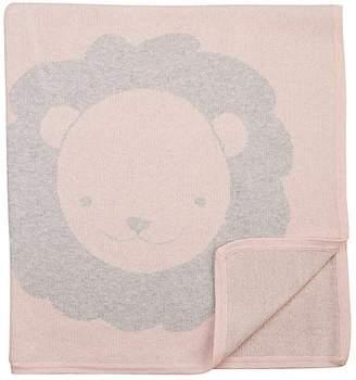 Barneys New York Lion Cotton-Cashmere Baby Blanket