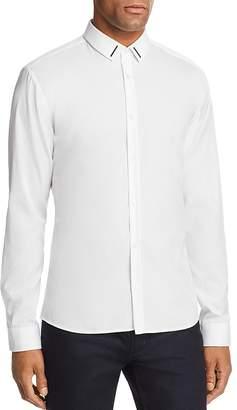 HUGO Ero Metal Trim Extra Slim Fit Button-Down Shirt