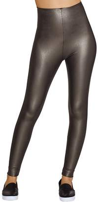 Commando Perfect Control Faux Leather Leggings, M