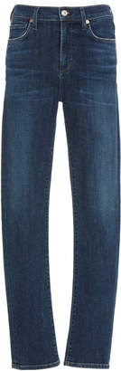 Citizens of Humanity Harlow High-Rise Slim-Leg Jeans
