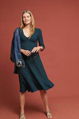 Maeve Flores Striped Dress