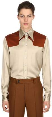 Maison Margiela Replica Viscose Western Shirt