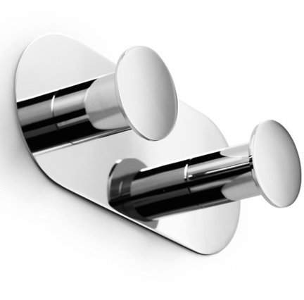 WS Bath Collections Napie Wall Mounted Double Bathroom Hook