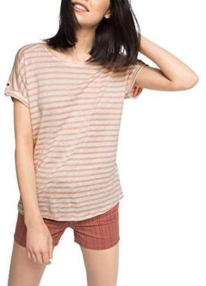 Esprit Women's Striped Short Sleeve Top,(Manufacturer Size:Small)