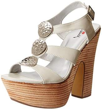 Luichiny Women's Golden Sky Platform Sandal