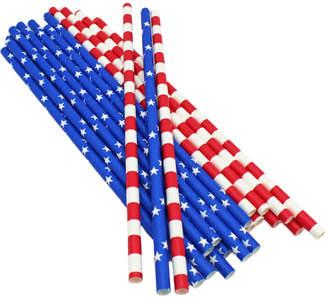 Sur La Table American Flag Paper Straws